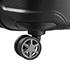 Rodas duplas multidirecionais 360° de fácil manobrabilidade.