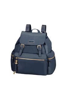 Mochila Senhora Backpack 3 PKT 2 Buckle Dark Navy | Samsonite.pt