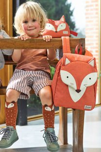 Mochila Infantil S Fox William - Happy Sammies | Samsonite