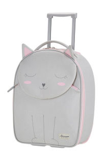 Mala de Cabine Infantil 45cm c/ 2 Rodas Kitty Kat - Happy Sammies | Samsonite