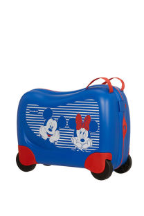 Mala de Viagem Infantil c/ 4 Rodas Minnie/Mickey Riscas - Dream Rider Disney | Samsonite