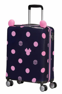 Mala de Cabine 55cm c/ 4 Rodas Minnie Dots - Color Funtime Disney | Samsonite