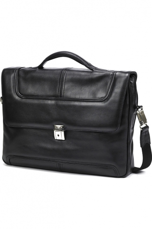 Briefcase 2 Gussets 15.6'' Black